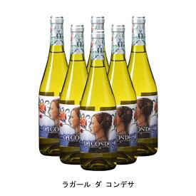 [ 6本 まとめ買い ] ラガール ダ コンデサ ( ラガール ダ コンデサ ) 2018年 スペイン 白ワイン 辛口 750ml×6本