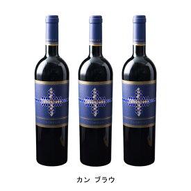 [ 3本 まとめ買い ] カン ブラウ ( カン ブラウ ) 2017年 スペイン 赤ワイン フルボディ 750ml×3本