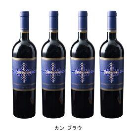 [ 4本 まとめ買い ] カン ブラウ ( カン ブラウ ) 2017年 スペイン 赤ワイン フルボディ 750ml×4本