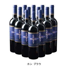 [ 12本 まとめ買い ] カン ブラウ ( カン ブラウ ) 2017年 スペイン 赤ワイン フルボディ 750ml×12本