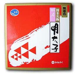 かねふく 辛子明太子 樽入り 無着色(450g)
