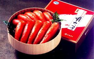 かねふく辛子明太子赤樽(無着色)450g(お中元 お歳暮 贈り物 送料込)