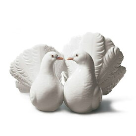 リヤドロ LLADRO つがいの鳩 1169 陶器人形 置物 リアドロ 動物 白鳩 鳥 カップル ウェディング ブライダル 結婚祝い