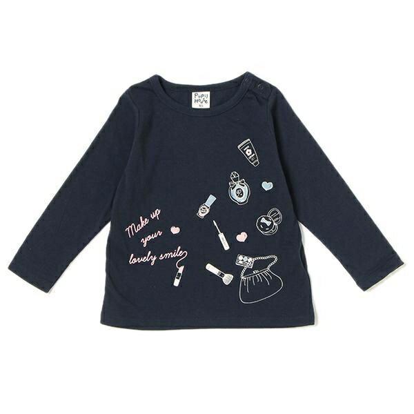 ピューピルハウス(Pupil House)メイクアップコスメイラストTシャツ