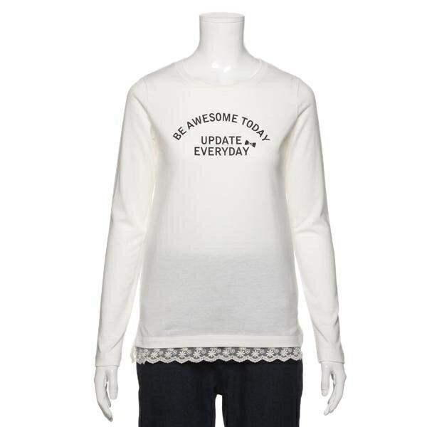 リンジィ(Lindsay)リフレクトリボンロゴTシャツ