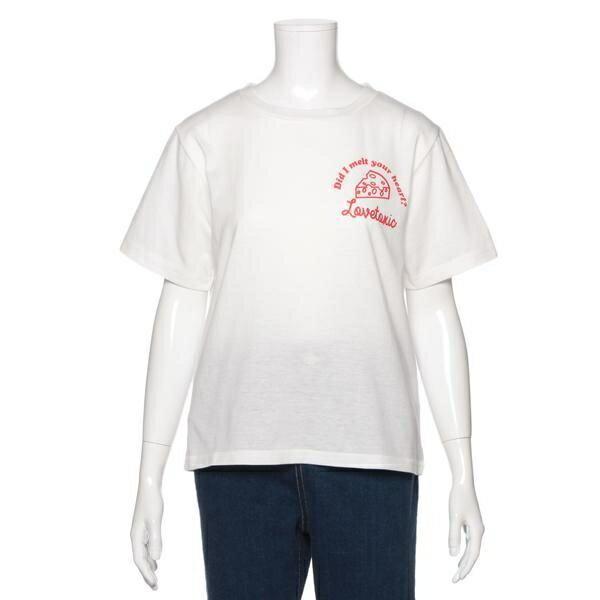 ラブトキシック(Lovetoxic)イラスト&ロゴプリントTシャツ