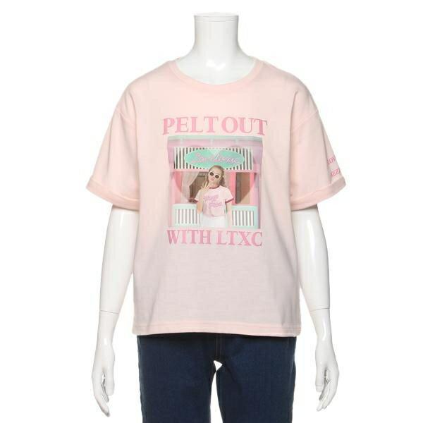 ラブトキシック(Lovetoxic)メゾピアノジュニアコラボGIRLグラフィックTシャツ