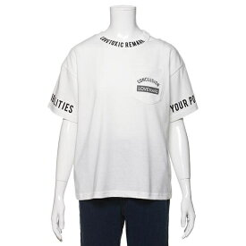 bac4c0540ee7f NARUMIYA ONLINE(ナルミヤ) · ラブトキシック(Lovetoxic)衿スリットTシャツ