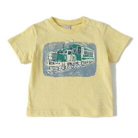 プティマイン(petit main)レトロバスTシャツ
