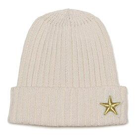 プティマイン(petit main)モチーフワッペンつきニット帽