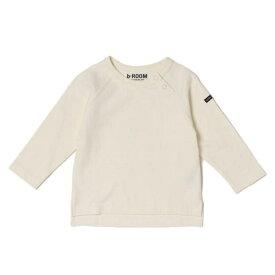 ビールーム(b-ROOM)無地ラグランスリーブTシャツ