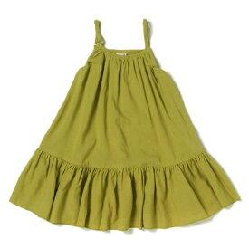 プティマイン(petit main)裾フリルキャミワンピース
