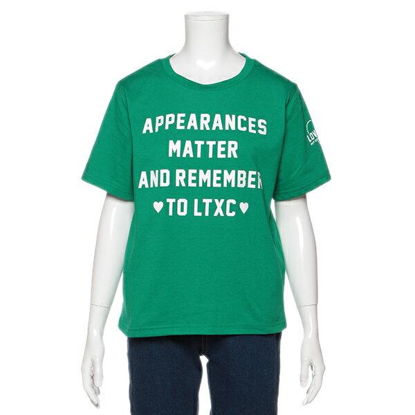 ラブトキシック(Lovetoxic)ロゴプリントベーシックTシャツ