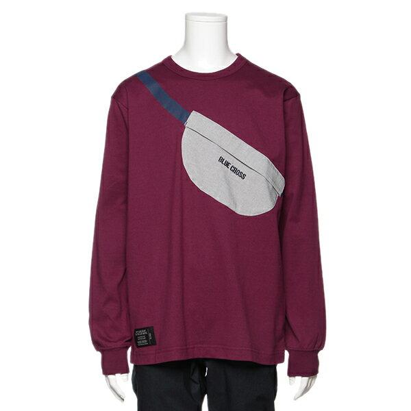 ブルークロス(BLUE CROSS)トロンプルイユウエストポーチTシャツ