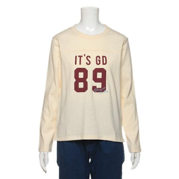 リンジィ(Lindsay)ナンバープリントコットンTシャツ