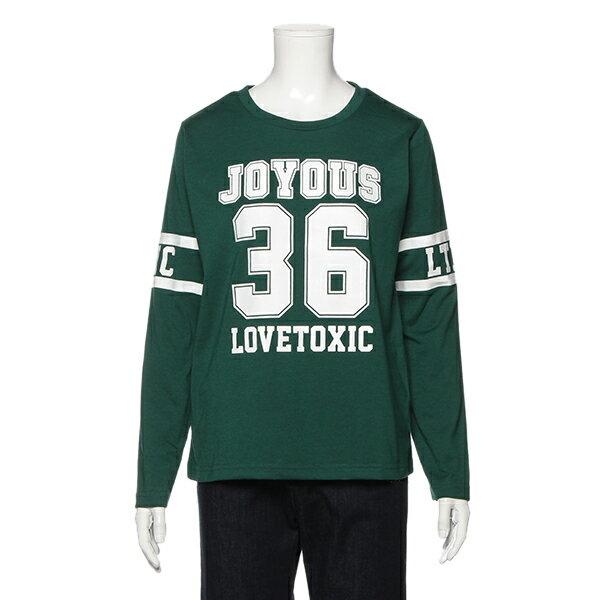 ラブトキシック(Lovetoxic)ナンバープリントTシャツ