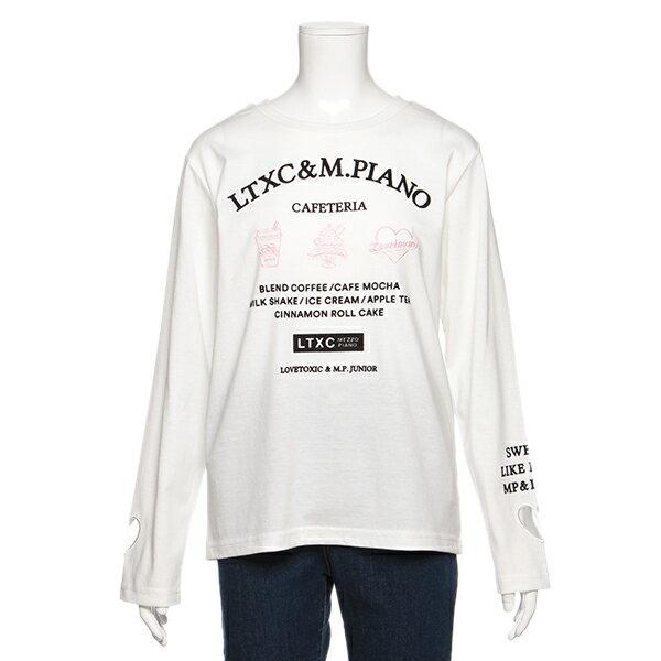 ラブトキシック(Lovetoxic)抜きハートロゴTシャツ