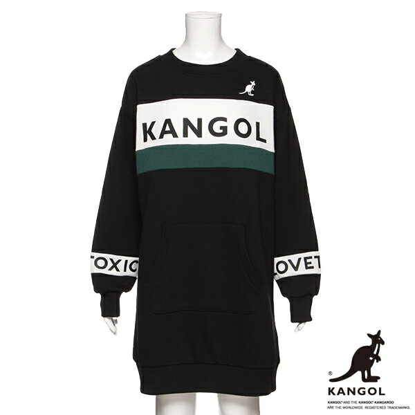 ラブトキシック(Lovetoxic)KANGOLコラボ裏毛ワンピース