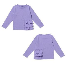 ビールーム(b-ROOM)裾フリルTシャツ