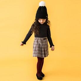 プティマイン(petit main)プリーツラップ風キュロットスカート