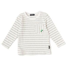 クレードスコープ(kladskap)丸ポケットボーダーTシャツ