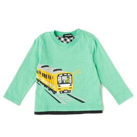 クレードスコープ(kladskap)電車プリントTシャツ