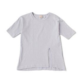 プティマイン(petit main)サイドロングスリットTシャツ
