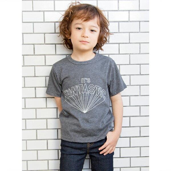 ビールーム(b-ROOM)柄ロゴプリントTシャツ