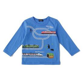 クレードスコープ(kladskap)クマ電車Tシャツ