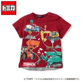 クレードスコープ(kladskap)【トミカコラボ】働く車集合Tシャツ