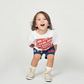 エックスガール ステージス(X-girl Stages)スクエアロゴTシャツ