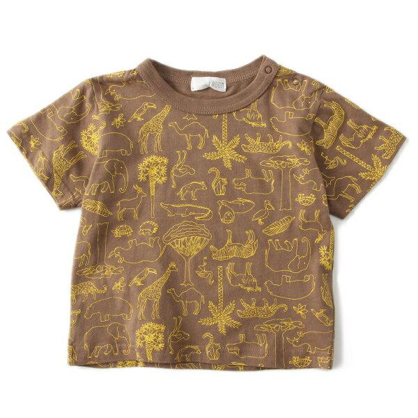 ビールーム(b-ROOM)動物総柄プリントTシャツ