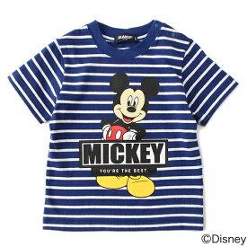 エクストララージ キッズ(XLARGE KIDS)DisneyプリントボーダーTシャツ