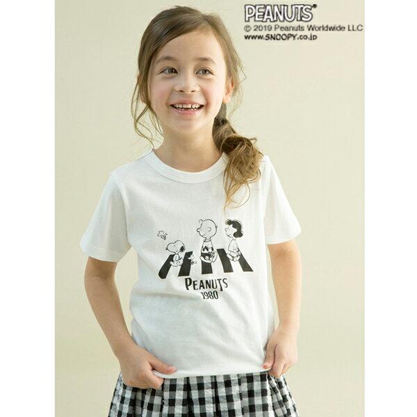 ビールーム(b-ROOM)PEANUTSコラボオマージュプリントTシャツ