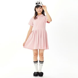 e8121ed87debb バイ ラビット(by LOVEiT)ロゴ刺しゅうポロワンピース