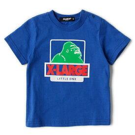 エクストララージ キッズ(XLARGE KIDS)配色OGゴリラプリントTシャツ