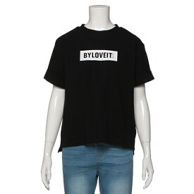 バイ ラビット(by LOVEiT)ボックスロゴTシャツ