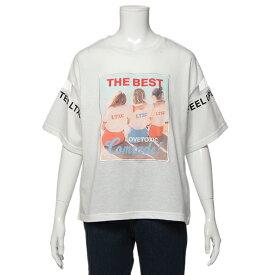 ラブトキシック(Lovetoxic)GIRL転写プリントTシャツ
