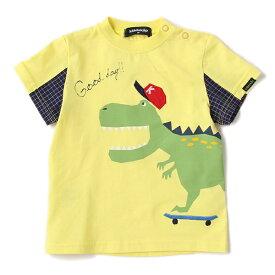 クレードスコープ(kladskap)スケボーザウルスTシャツ