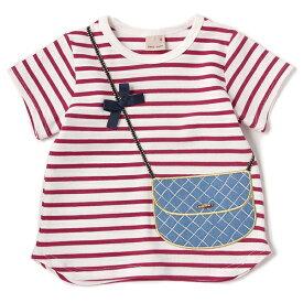 プティマイン(petit main)バッグトロンプルイユTシャツ
