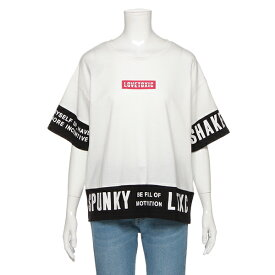 ラブトキシック(Lovetoxic)バイカラーロゴビッグTシャツ