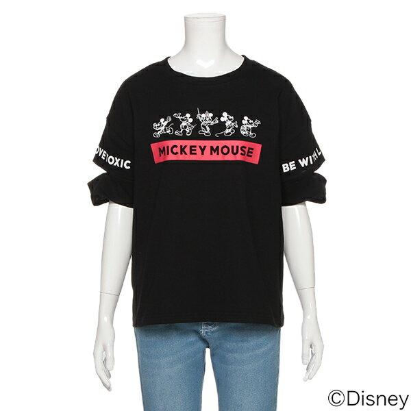 ラブトキシック(Lovetoxic)DISNEY 袖切込みTシャツ