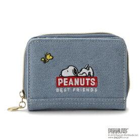 リンジィ(Lindsay)PEANUTSコラボ ラウンド財布