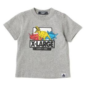 エクストララージ キッズ(XLARGE KIDS)恐竜プリントTシャツ