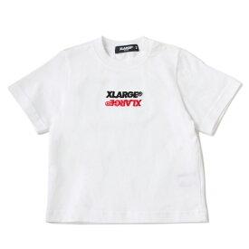 エクストララージ キッズ(XLARGE KIDS)折り返しロゴTシャツ