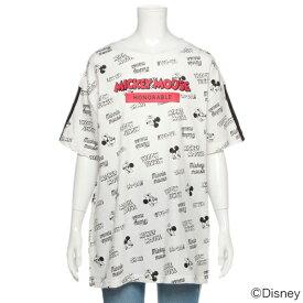 ラブトキシック(Lovetoxic)DISNEYミッキーデザイン ロゴ ビッグTシャツ