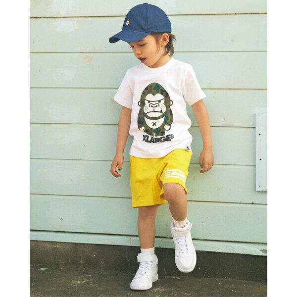 エクストララージ キッズ(XLARGE KIDS)迷彩ファニーゴリラTシャツ
