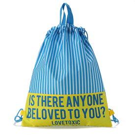 ラブトキシック(Lovetoxic)メッセージ巾着バッグ