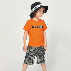 エクストララージ キッズ(XLARGE KIDS)ファニーアップリケ&ロゴTシャツ
