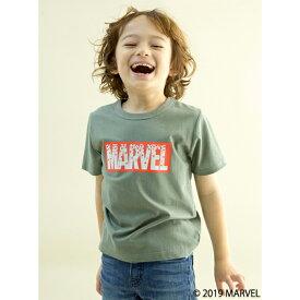 ビールーム(b-ROOM)MARVEL ボックスロゴTシャツ